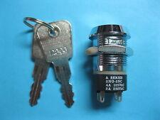 1 pcs Key Ignition Switch 2NO-2NC ON/OFF Lock Switch 18.5x37mm S2803-2