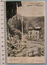 cartolina Lombardia Saluti  da Valganna Grotte -VA V969