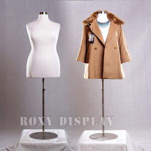 Female Size 18-20 Mannequin Manequin Manikin Dress Form #F18/20W+BS-04