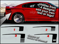 2012 2011 12 13 14 15 16 Dodge Charger Hockey Style Vinyl Decal Stripe graphics