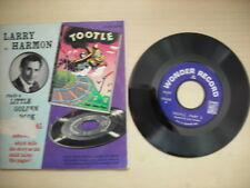 Wonder Book & Record TOOTLE Larry Harmon 45rpm 1946