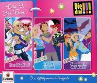 DIE DREI !!! - 09/3ER BOX (FOLGEN 25-27)  3 CD NEU