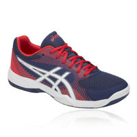 Asics Mens Gel-Task 2 Court Shoes Blue Sports Squash Breathable Lightweight