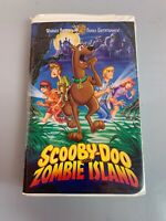 Scooby-Doo on Zombie Island (VHS, 1998, Clamshell)