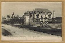 Cpa Le Touquet Paris Plage - villas au jardin public rp0424