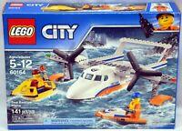 LEGO 60164 City Sea Rescue Plane 141 pcs NIB
