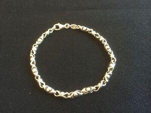 Vintage Ladies Solid Silver 925 Braclet