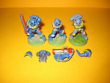 Warhammer 40k - Space Marines - 3x metal Marines in MK7 Armour