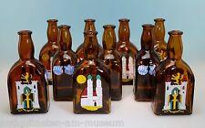 10 Stück Riemerschmid Historische Likörflaschen Escorial 0,35 ltr München