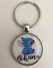 Keychain Ohana Stitch Love Aloha Hawaii Hawaiian Family Mahalo World
