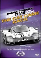 RACING THROUGH TIME - JAGUAR Sportscar 'The Cat Returns To LE MANS' - NEW DVD