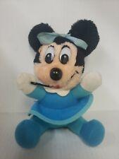 New listing Walt Disney Mickeys Christmas Carol Minnie Mouse Stuffed Plush made in Korea