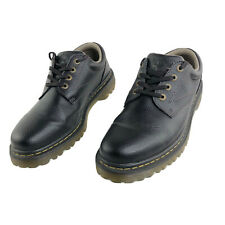 Dr Martens Ashfeld Oxford Mens US 11 Brown Leather 4-Eye Air Cushion Shoes EUC!