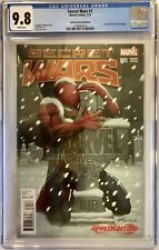 SECRET WARS #1 (2015) INFINITY & BEYOND VARIANT COLOR COVER BY GREG LAND CGC 9.8