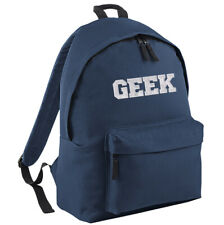 Geek Backpack - School Bag Rucksack Funny Nerd