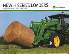 "John Deere ""H Series"" Tractor Loader Brochure Leaflet"