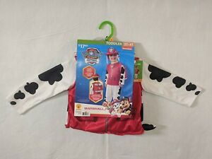 Paw Patrol Marshall Toddler Halloween Costume Cosplay Size 3T-4T Rubies