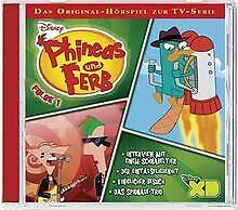 Phineas & Ferb - TV-Serie 01 von Walt Disney | CD | Zustand gut
