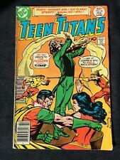 "DC THE TEEN TITANS Vol.12 #46 Feb.1977 ""The Fiddler's Concert of Crime!"" 6.0 FN"