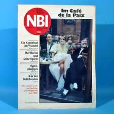 DDR NBI 1 1988 Eiskunstlauf Gaby Seyfert Saalfeld Berlin-Kreuzberg Paris Kurze A