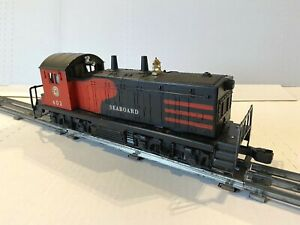 """1957 LIONEL NW-2 SEABOARD 602 SWITCHER DIESEL ENGINE LOCOMOTIVE-""""TESTED"""" O-SCALE"""