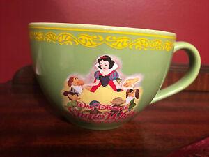 Disney Store Snow White And The Seven Dwarfs Soup Mug/Cup