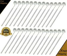 50 PCS DENTAL MOUTH MIRROR #5 WITH HANDLE DENTAL INSTRUMENTS