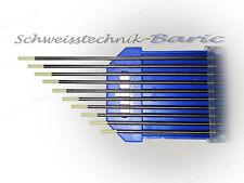 10 x Wolframelektroden Grau WC20 1,6 x 175 zum WIG DC-Schweißen Wolframnadeln
