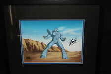 X-Men/Marvel Original Production Cel- War Machine- Signed by Stan Lee