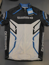 Giant Shimano Print Short Sleeve Jersey Black/Blue/White XL NWT