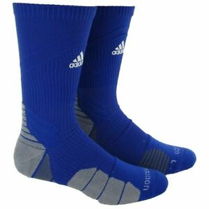 Adidas Men's Traxion Menace Crew Soccer Football Basketball Socks  XL Size 12-16