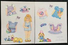 Little Girl Paper Doll by Janie Mcquillan, Mag. PD. 2011