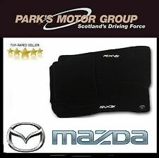 MAZDA RX8 2003/> LUXURY HEAVY DUTY BLACK RUBBER CAR MAT SET NON SLIP GRIP