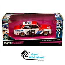 Maisto 1:24 - Tokyo Mod - Bre Datsun 510 #46 - Red/White