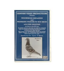 Widowhood Explained and Preparing Pigeon DVD from John Halstead - Racing Pigeons