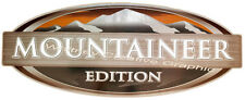 "MONTANA MOUNTAINEER EDITION LOGO RV DECAL GRAPHIC White letter version 43""x17"""