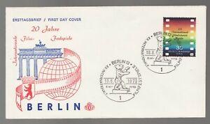 Germany 1970 Internationale Filmfestspiele Berlin 30 Pf  - FDC -  Bear cancel