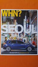 Hyundai What Happens Next magazine Issue 2 2017 i30 Santa Fe Antarctic i10 NEW