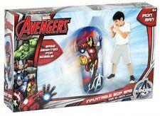 Large 80 cm Iron Man Los Vengadores Boxeo Punch Bop Bolsa Stocking Relleno De Juguete 36-0204