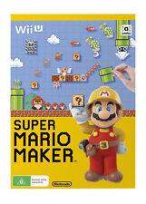 Super Mario Maker with Artbook (Nintendo Wii U, 2015)