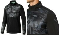 PUMA Golf LTD Edition Union Camo 1/4 Zip Pullover - RRP£75 - LARGE ONLY
