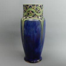More details for lovely royal doulton art pottery vase florrie jones c.1910