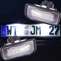 Set LED SMD Kennzeichenbeleuchtung Mercedes C Klasse W203 Limousine 7206