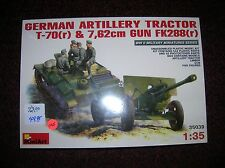 "Mini Art # 35039 "" Ger. Artillery Tractor + Gun "" list $72.00,1/35 lot # 11437"