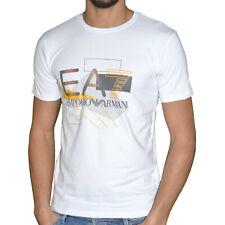 Original Tee Shirt EMPORIO ARMANI EA7 6XPT90 Slim Fit Blanc White T.L