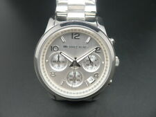 New Old Stock MICHAEL KORS Runway MK5076 Chronograph Date Quartz Women Watch