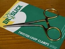 """Dr. Slick Twisted Loop Clamps C5Gtw (5"""", Gold Loops, Straight)"""