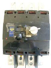 MITSUBISHI 800 AMP FOUR POLE MCCB DSN800-SS NO-FUSE BREAKER