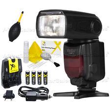 Vivitar DF-372 Digital DSLR TTL Flash + Kit for Canon 5D, 5D Mark III, 6D, 7D
