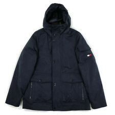 Tommy Hilfiger Mens Jacket Coat Winter Heavy Hood 60/40...